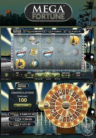 casino games online mega fortune