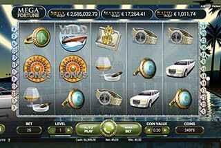 Mega Fortune Casino Game