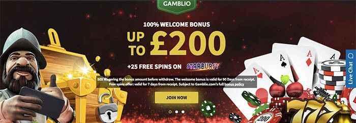 Gamblio Casino Bonus