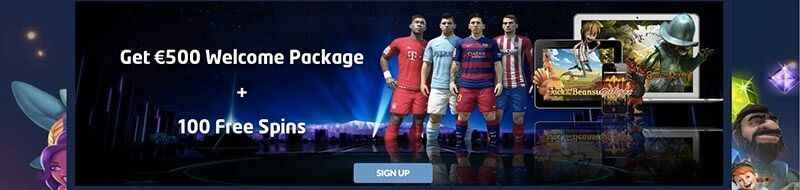 Staybet welcome offer