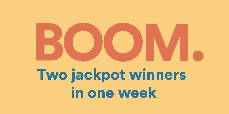 2 Online Casino Jackpot Winners in 1 Week!
