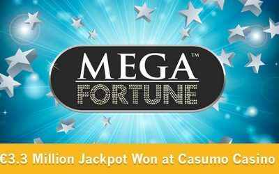 Mega Fortune Jackpot Hit at Casumo Casino