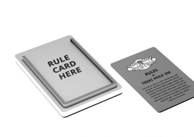 rule card holder