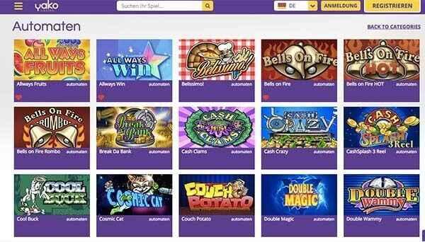 Yako Casino Review
